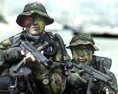 Navy SEALs work in small units of one to two