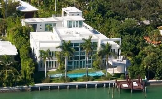 Lil Wayne's Miami home has nine bedrooms, nine bathrooms, and has three